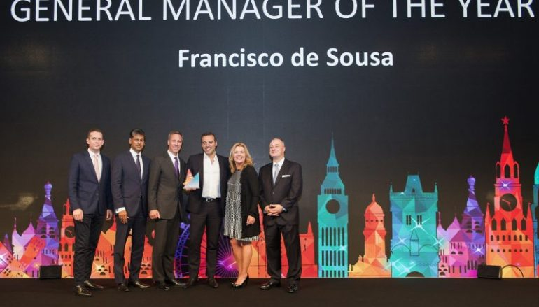 Francisco Nogueira de Sousa distinguido como melhor general manager do grupo Marriott na Europa