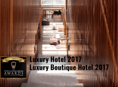 Inspira Santa Marta Hotel com dupla distinção nos World Luxury Hotel Awards