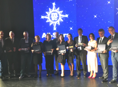 "Agentes de viagens portugueses premiados na cerimónia ""All-Stars of the Sea"" a bordo do MSC Grandiosa"