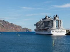 Novo MSC Seaside realizou escala inaugural no Porto do Funchal