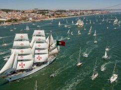 The Tall Ships Races chega esta semana a Lisboa