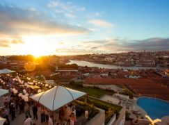 Sunset Wine Party no The Yeatman a 22 de agosto