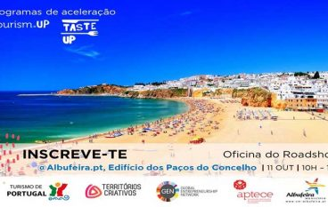 "Albufeira acolhe oficina do roadshow ""Tourism UP – Taste UP"""