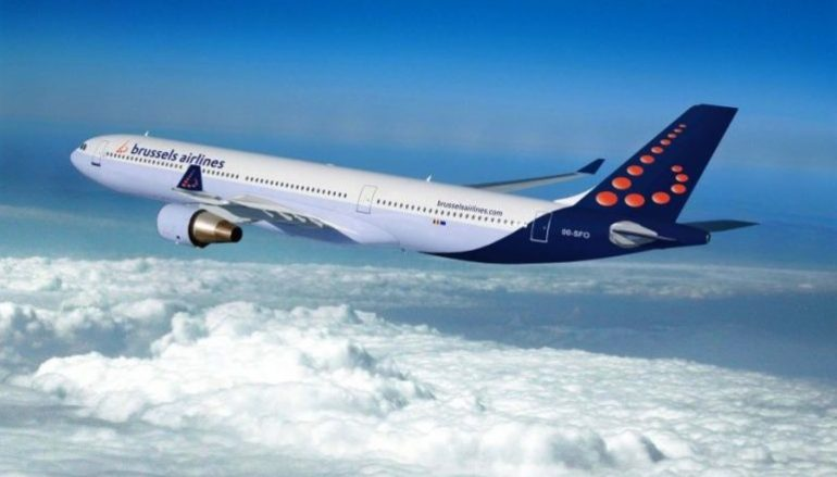 Brussels Airlines aterra na Madeira