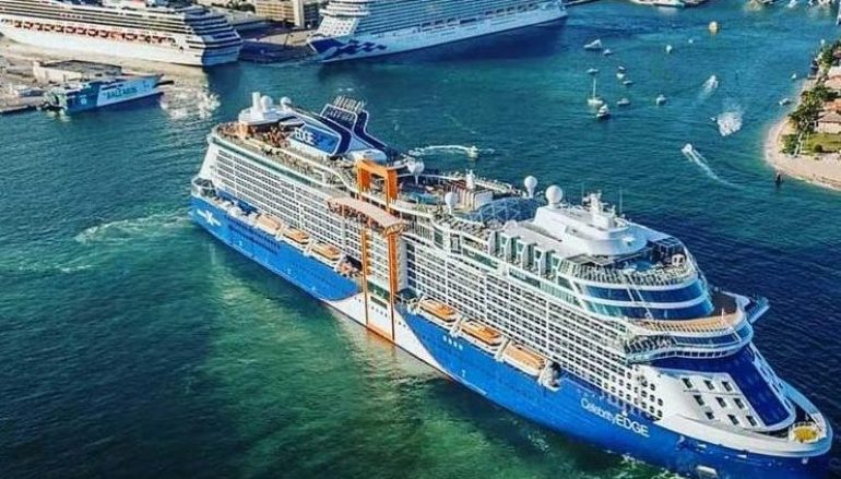 "Novo Celebrity EDGE procura ""trazer o mar para dentro do navio"""