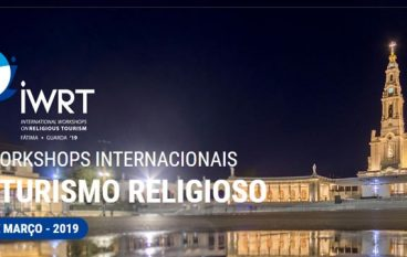 VII Workshops Internacionais de Turismo Religioso: Últimas inscrições para suppliers abertas / expositores esgotados